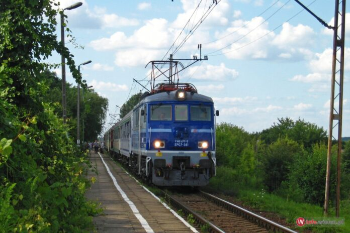Pociąg PKP, kolej