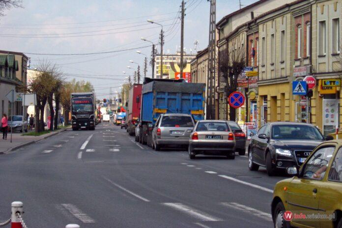 Samochody, ulica, ruch, droga
