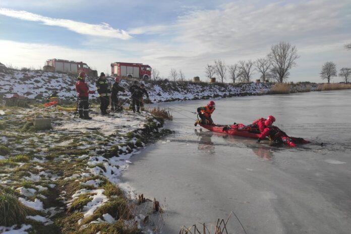 Ćwiczenia straż pożarna