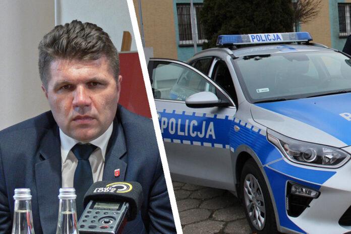 Burmistrz i policja