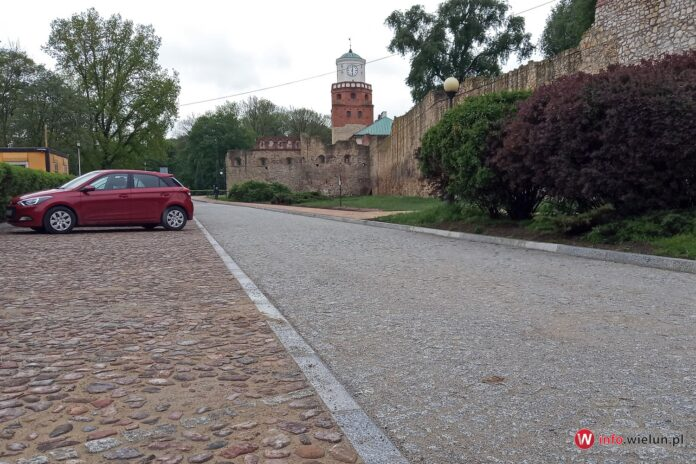 Ulica Podwale w Wieluniu