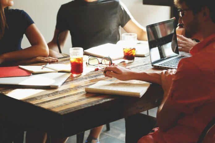Spotkanie, integracja, zespół, team